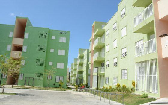 Primer grupo familias La Ciénaga y Los Guandules eligieron mudarse a LNB ya están en apartamentos