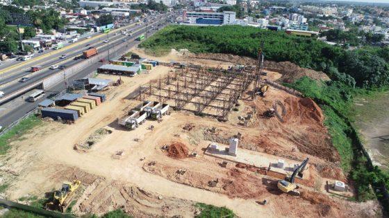 Avanzan trabajos de construcción Teleférico Los Alcarrizos